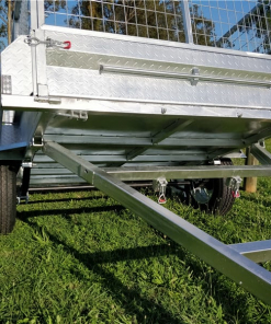 Chassis of box trailer