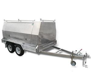 The 10x6 Tradesman enclosed.