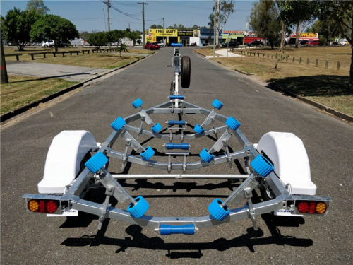 Boat Trailer with Wobble Rollers Picture
