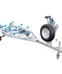 Boat Trailer with Wobble Rollers