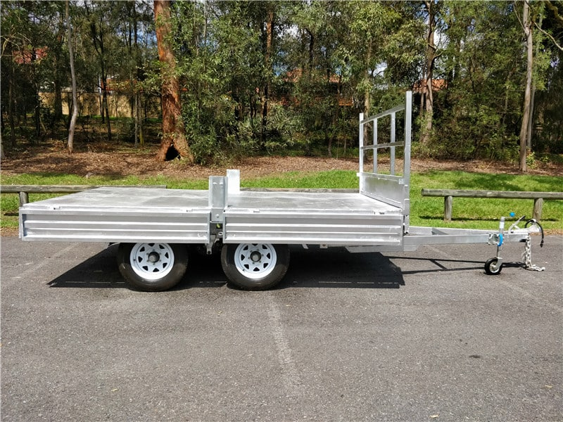 Flat Top Trailer (Flatdeck) Detail
