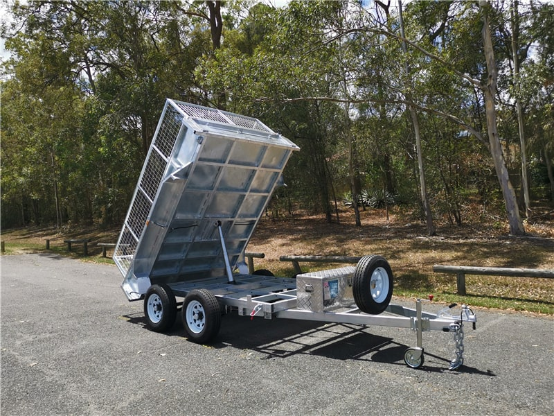 10×6 Hydraulic Tipper Trailer