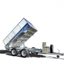 10×6 Hydraulic Tipper Tandem Box Trailer ATM 3500KG