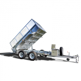 10×6 Hydraulic Tipper Tandem Box Trailer ATM 3500KG