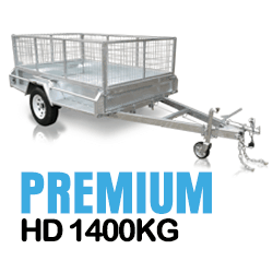 PREMIUM Heavy Duty Box Trailer 1400KG