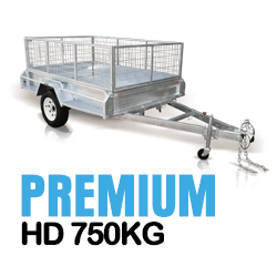 PREMIUM Heavy Duty Box Trailer 750KG