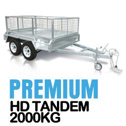 CenturyTrailer Premium Tandem box trailers