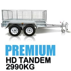 Century Trailers Tandem Box Trailers 2990KG