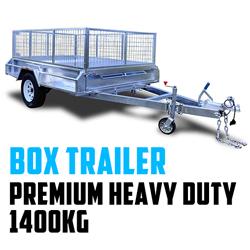 PREMIUM Heavy Duty Box Trailer 1400KG