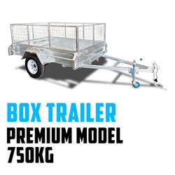 CenturyTrailer Box Trailers 750KG